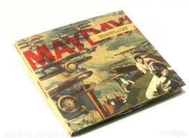 Uncoated matte paper vintage cd packaging organic