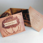 Digipak with special effects to achieve wood finish