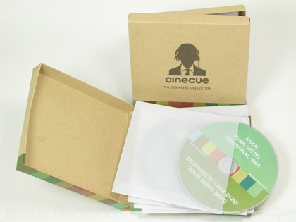 CD Box set 5 x 5 inch with five cds