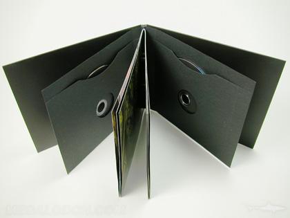 Custom Cd Dvd Jacket Packaging Disc Die Cut Shapes Printing Paper