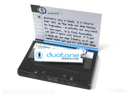 USB drive packaging, retro design