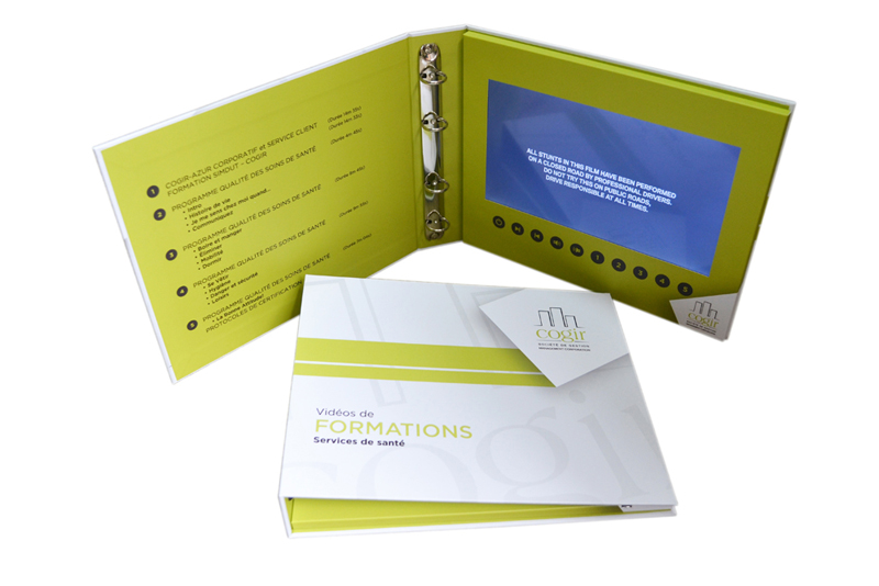 hard cover 10inch screen with ring binder esi manufacturing inc