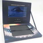 Video LCD Panels Presentation Box with die cut well for book, 7inch screen, deluxe box set