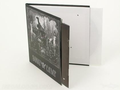 Retro CD LP Packaging Inner Sleeve Chipboard Stock