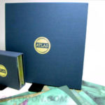Linen wrapped vinyl and cd box set