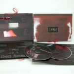 custom packaging photos cloth bound cd dvd book string die cut embossing