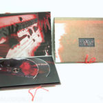custom packaging dvd book set with string tie closure