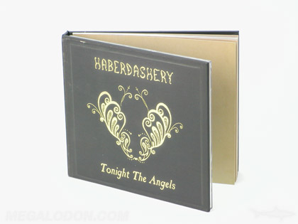 CD book front cover gold foil