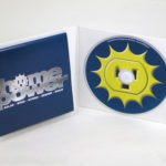 custom eco cd jacket foam hub fold out poster