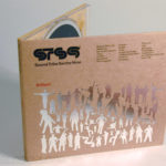 Fiberboard cd digipak with silver foil