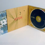 Fiberboard digipak cd, tube pocket