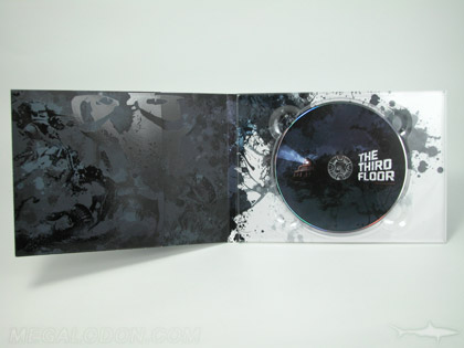 Wide Digipak custom digipak with tray turned sideways, landscape