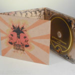 Fiberboard digipak with color printing