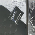 Digipak with business card in diagonal pocket