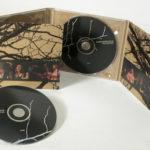 CD Digipak Fiberboard stock with 4C spot color