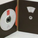 Plastic free packaging, organic, printed fiberboard stock dvd packaging