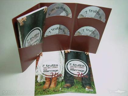 multidisc 4 disc set tall jacket curved pockets, booklets, slipcase