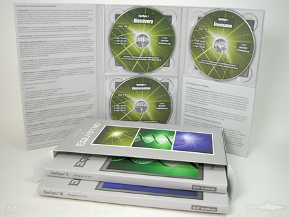Multidisc Box set with volumes in tall 10 inch digipaks slipcase box