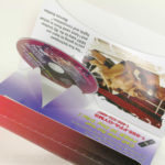 die cut pop up pal packaging for dvd mailer