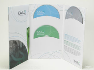 Tall Multidisc kacket, three discs curved pockets