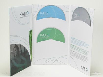 Tall Multidisc kacket, three discs curved pockets