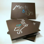 custom digipaks wide tray with foil stamping