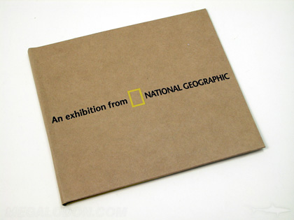 National Geographic organic cd jacket packaging
