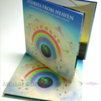 CD Book 2disc set glued on sleeves, rigid chipboard material