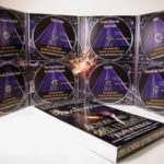 DVD Slipcase Box set with 8 discs in megatall digipak