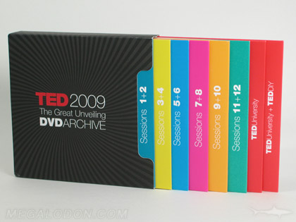 cd dvd slipcase set with 14 discs in jackets