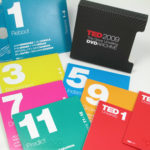 Multidisc Slipcase Set TED spec, 8 disc jackets