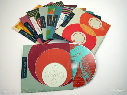 multidisc set cds in jackets