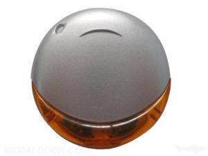 USB 132 Round Plastic Case