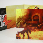 Die cut packaging wings shape cd jacket