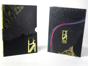 embossing debossing on dvd packaging along with spot gloss and gold foil