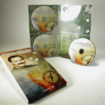 Multidisc set with 3 discs and one foam panel, slipcase