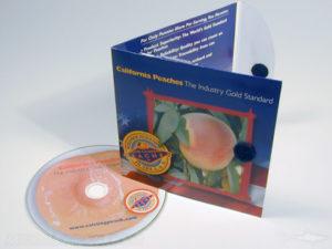 Velcro closure on CD Pop up Pak Packaging