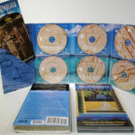 Multidisc cd set with 6 discs in 10 inch tall digipak