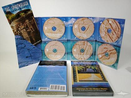 CD DVD Digipak set 6 disc set 8pp megatall with slipcase