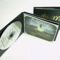 Hardbound cd book foam hub
