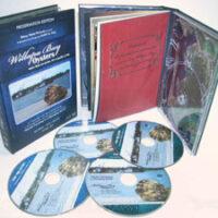 custom digipak book 4disc