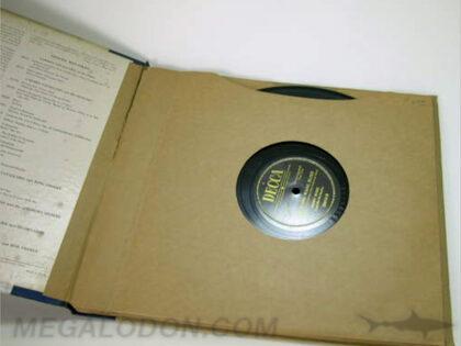 Vintage LP Packaging 12inch Vinyl Set