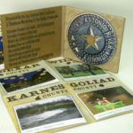 Eco Digipak with Uncoated Stock, CD in Paper Tray, Poster