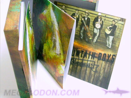 Box Set Hinged Cover cd set