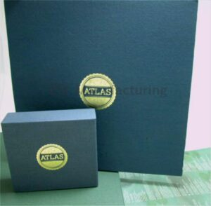 Deluxe Box Sets Linen wrapped CD & Vinyl Boxes, Foil Stamp