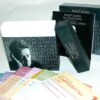 Philip Glass Box Set packaging featuring a 2 piece rigid box, top loading, cds packaging in 2pp jackets inside