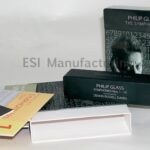 Philip Glass Box Set, cds packaged in 2pp jackets, 2 piece box vertical loading top & bottom lid