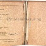 vintage looking paper on custom cd packaging