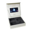 Video Box with LCD Panel 7Inch Screen, die cut wells for retail items, 7inch screen