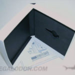 USB Box Set Packaging foam well and book